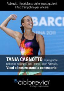 La campionessa di Bolzano testimonial Abbrevia a Milano per la manifestazione di categoria, il 16 novembre. Nello sport come nel campo delle investigazioni, attitudine vincente.